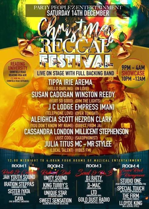 Christmas Reggae Festival 2019