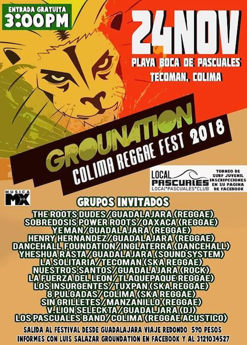 Colima Reggae Fest 2018