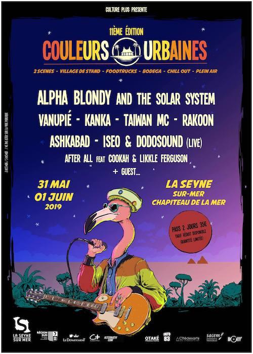 Couleurs Urbaines Festival 2019
