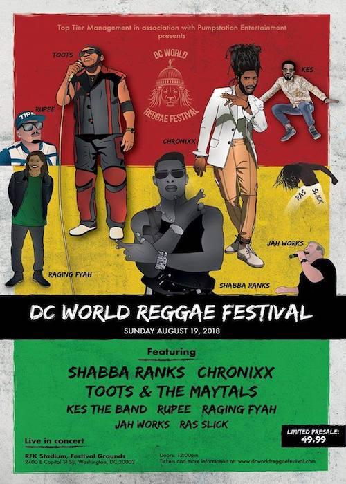 DC World Reggae Festival 2018