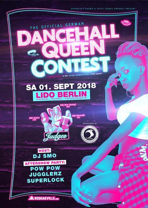 Official German Dancehall Queen Contest 2018