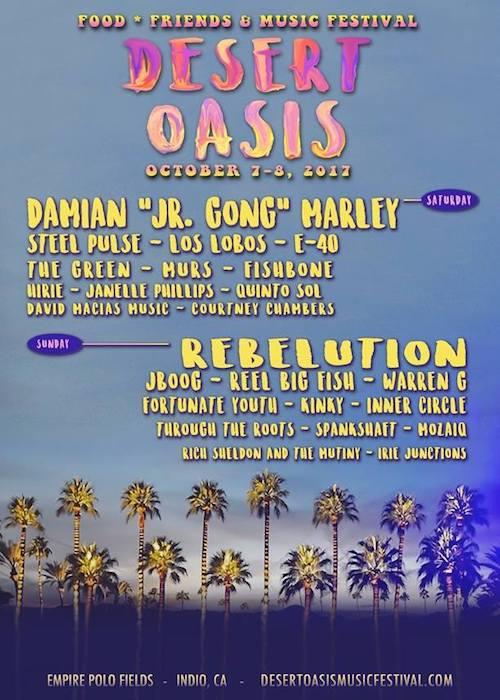 Desert Oasis Music Festival 2017