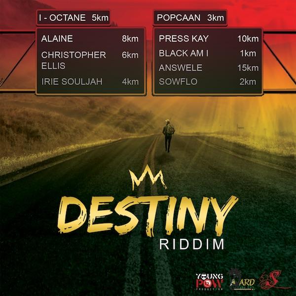 Release: Various Artists - Destiny Riddim