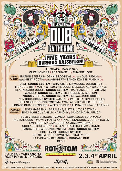 POSTPONED: International Dub Gathering 2020