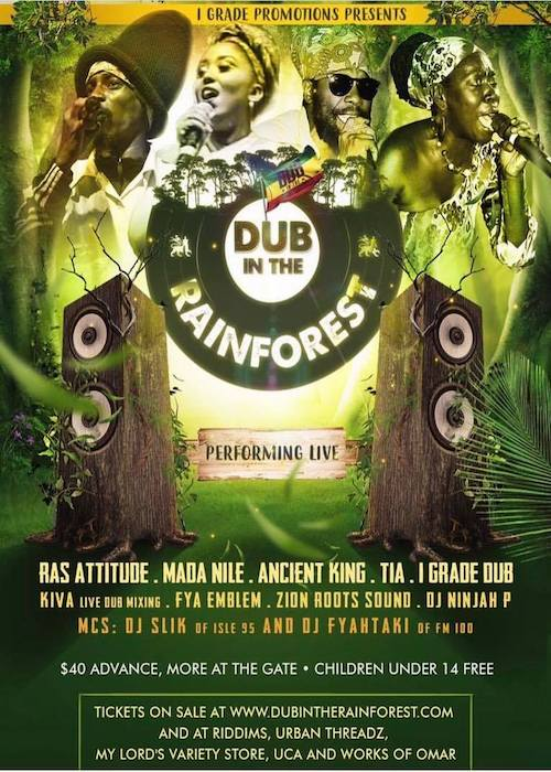 Dub In The Rainforest 2018