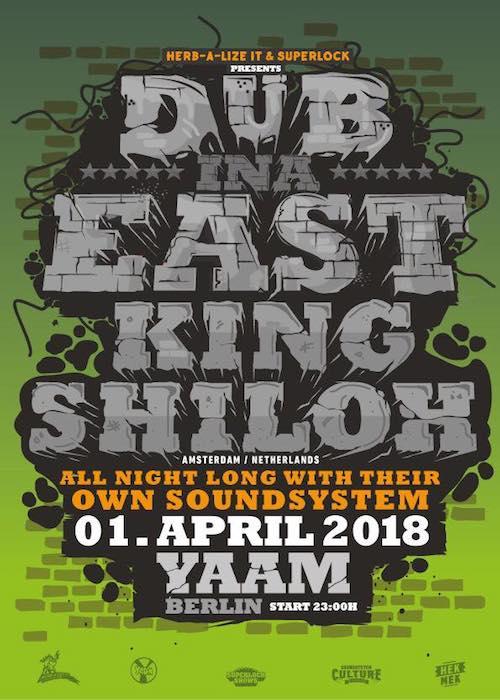 Dub Inna East 2018