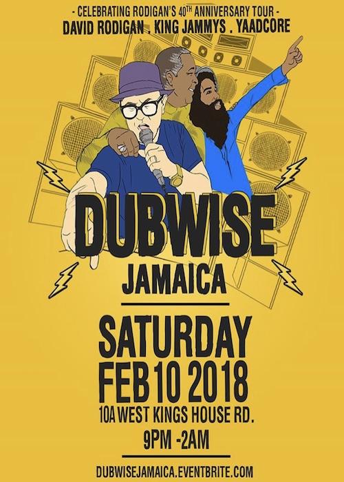 Dubwise Jamaica Greets David Rodigan 2018