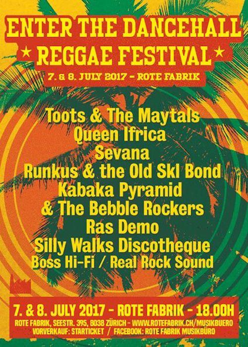 Enter The Dancehall Reggae Festival 2017