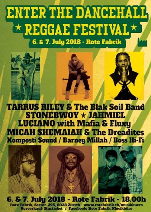 Enter The Dancehall Reggae Festival 2018