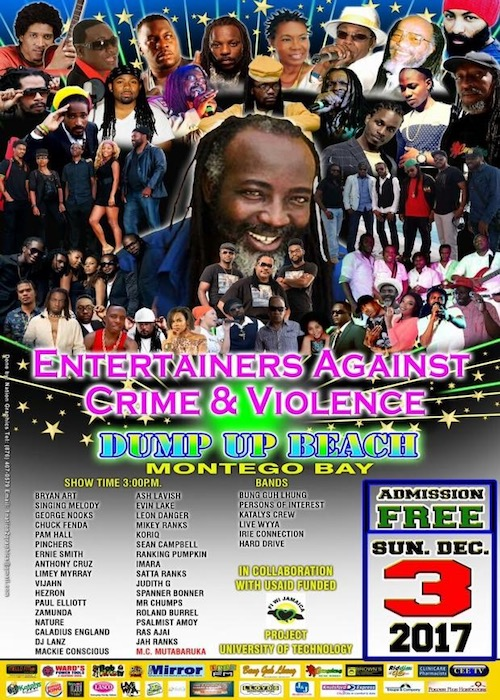 Entertainers Against Crime & Violence 2017