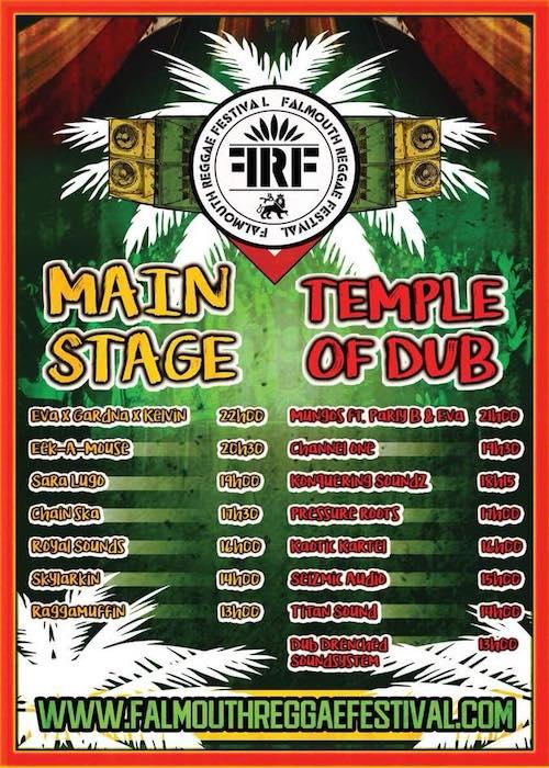 Falmouth Reggae Festival 2018