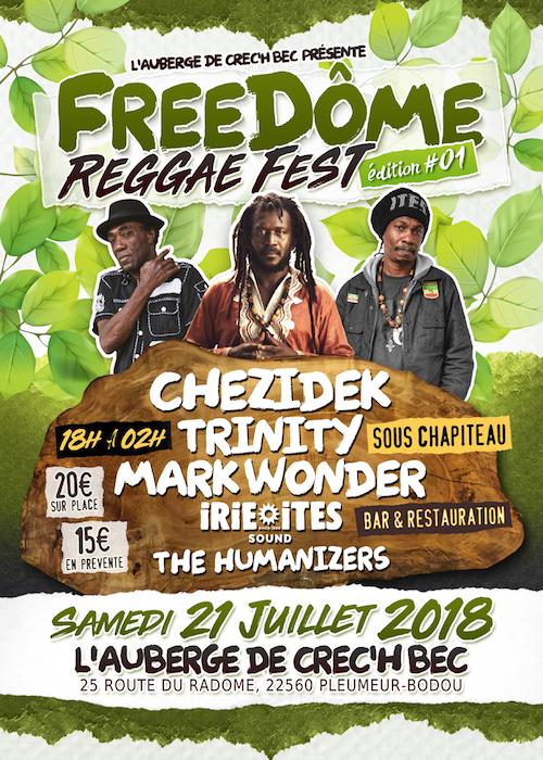 Freedôme Reggae Fest 2018