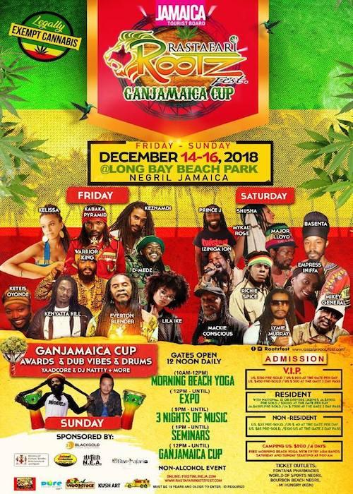 Rastafari Rootz Fest - Ganjamaica Cup 2018