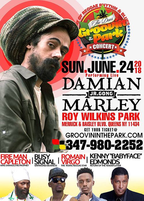 Groovin In The Park 2018