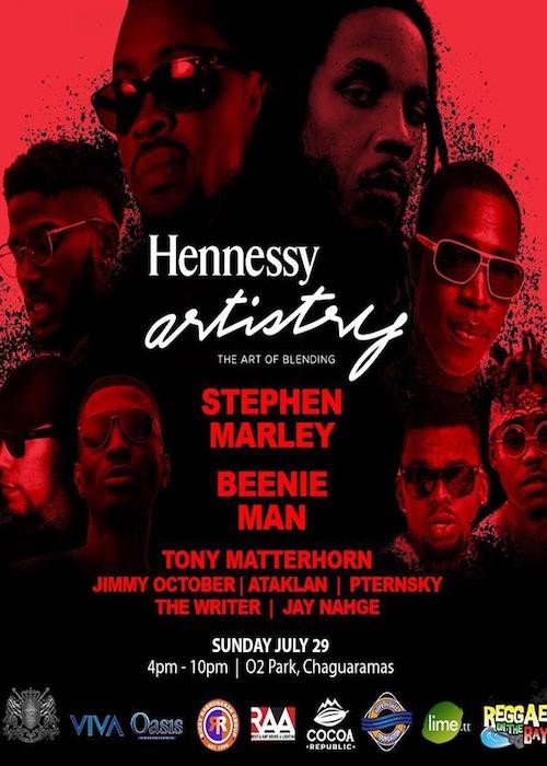 Hennessy Artistry Trinidad 2018