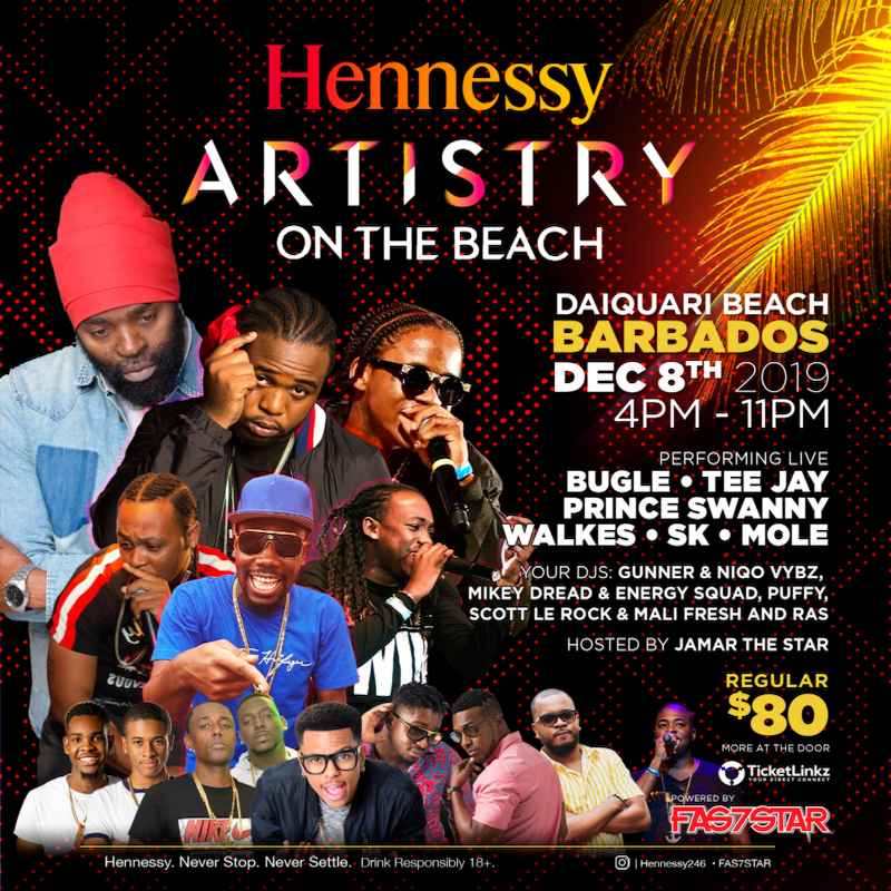 Hennessy Artistry On The Beach 2019