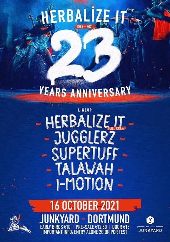 Herbalize-It - 23 Years Anniversary