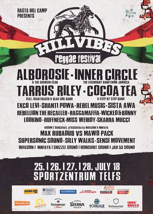 Hill Vibes Reggae Festival 2018