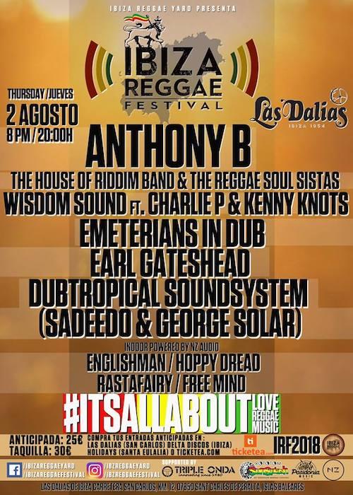Ibiza Reggae Festival 2018