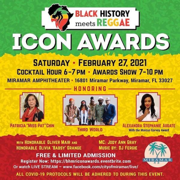 Black History Meets Reggae - Icon Awards 2021