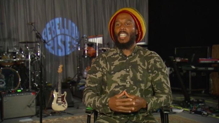 Ziggy Marley Interview @ CNN [6/11/2018]
