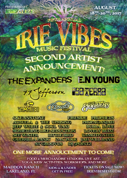 Irie Vibes Music Festival 2017