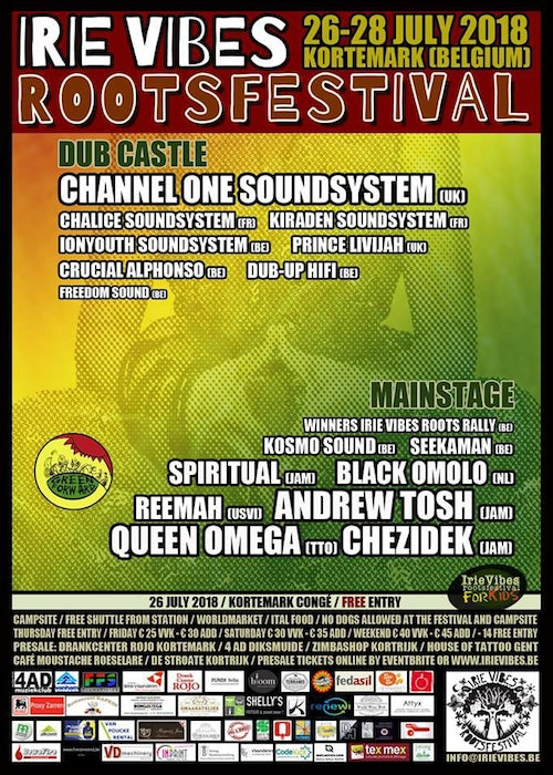 Irie Vibes Roots Festival 2018