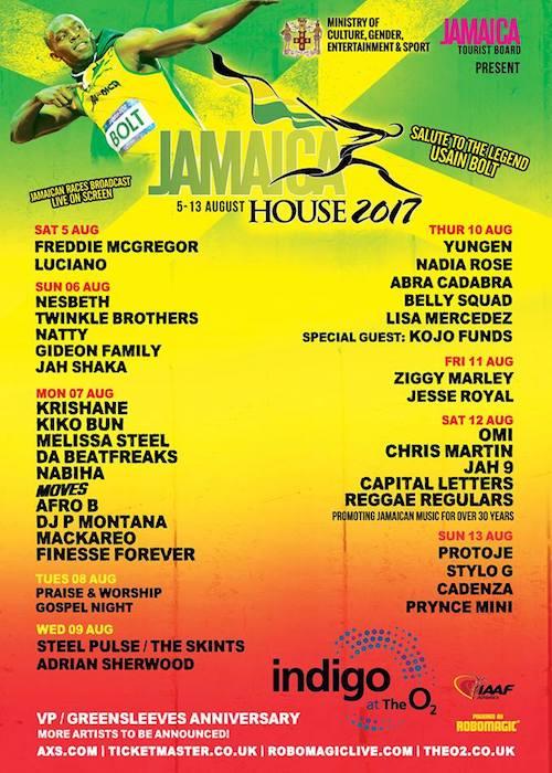 Jamaica House 2017