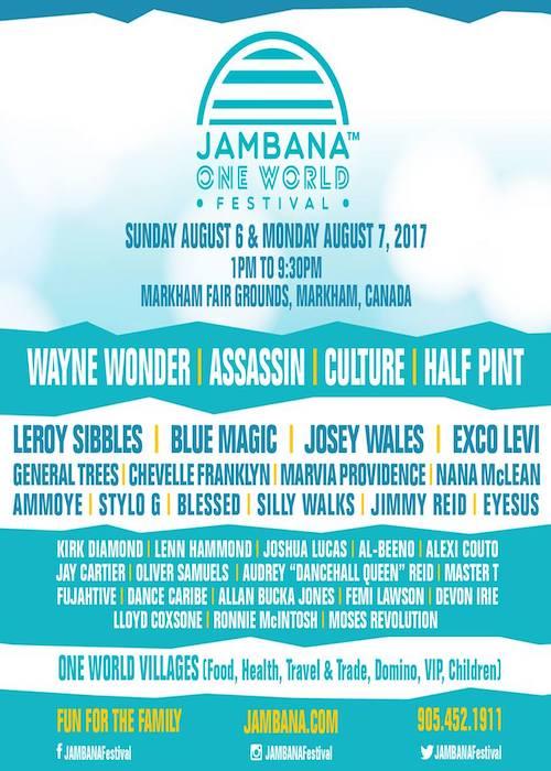 Jambana One World Festival 2017