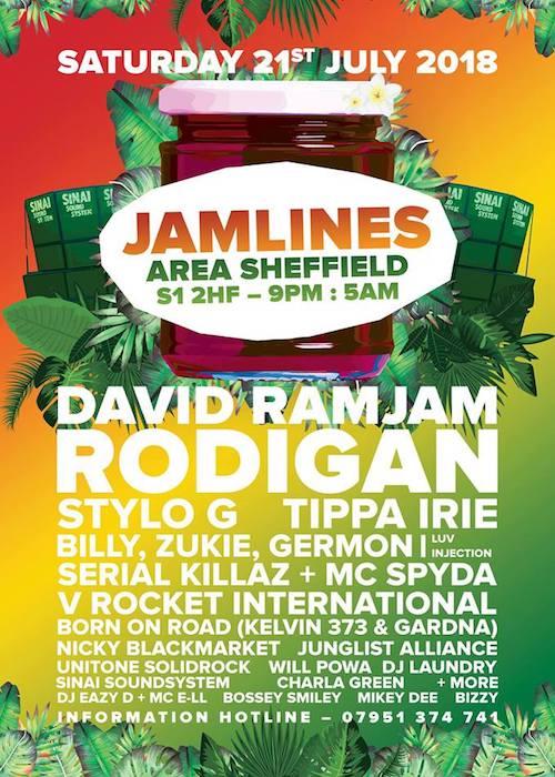 JamLines - Official Fringe @ Tramlines After-Party 2018
