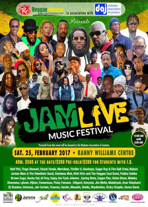 Jamlive Music Festival 2017