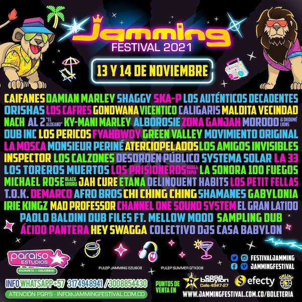 CANCELLED: Jamming Festival 2021