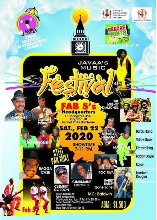 Javaa's Music Festival 2020
