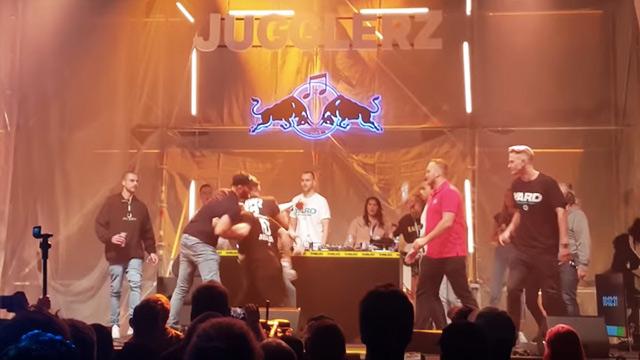 Jugglerz Assaulted @ Red Bull Music Culture Clash Berlin 2018 [10/4/2018]