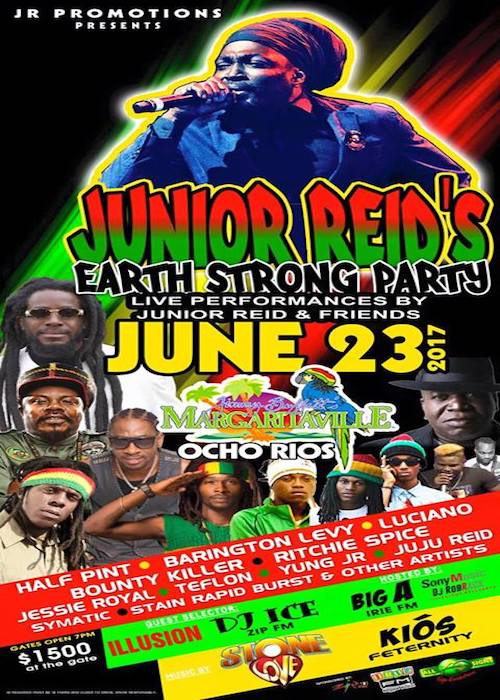 Junior Reid's Earthstrong Party 2017