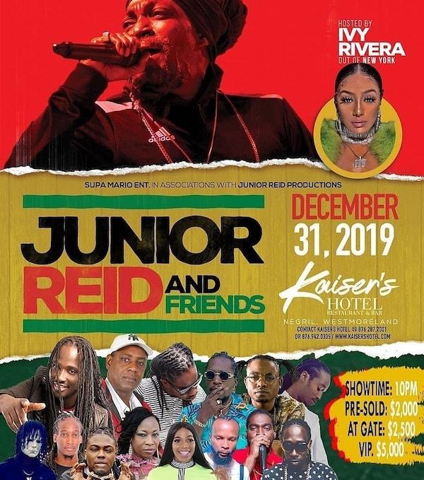 Junior Reid & Friends 2019