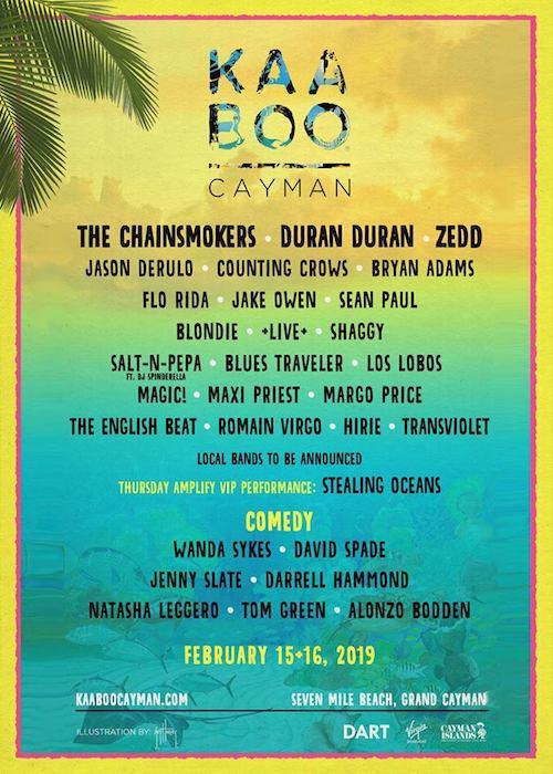 Kaaboo Cayman 2019