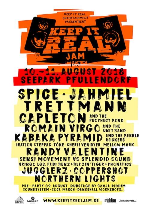 Keep It Real Jam 2018