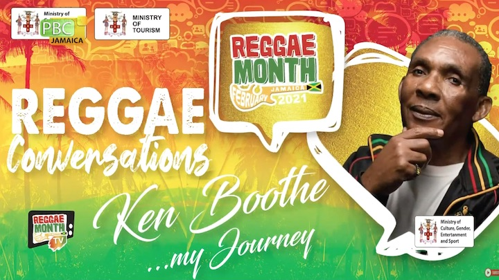 Reggae Conversations with Ken Boothe 2021 [2/8/2021]