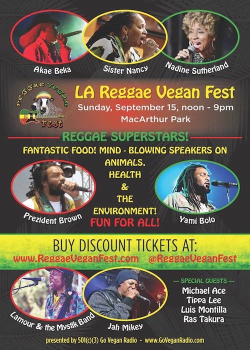 LA Reggae Vegan Fest 2019