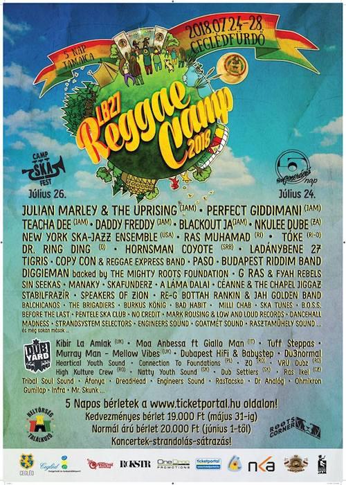 LB27 Reggae Camp 2018