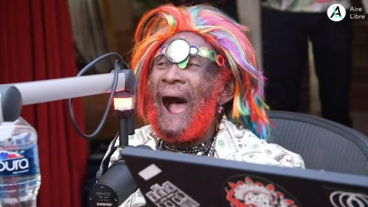 Lee Scratch Perry Interview and performance @ Aire Libre [9/27/2019]