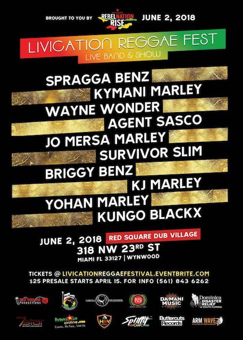 Livication Reggae Festival 2018