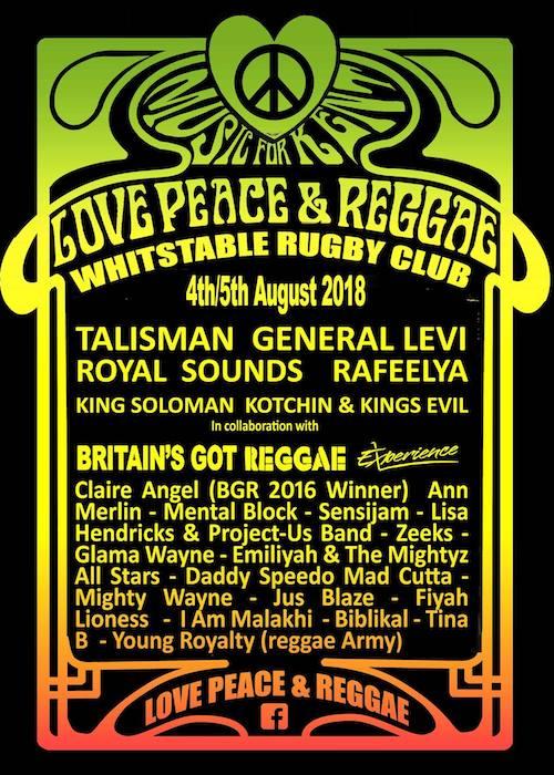 Love, Peace & Reggae 2018
