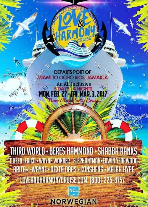 Love & Harmony Cruise 2017