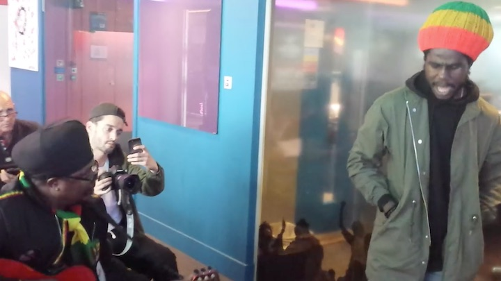 Luciano & Chronixx - Freestyle @ BBC Radio Station [11/29/2018]