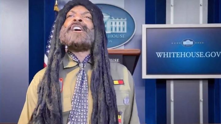 Kamala Harris & Jamaican Side of her Family tour the White House (Majah Hype) [11/11/2020]