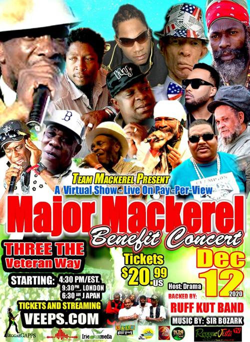 Major Mackerel Benefit Concert 2020