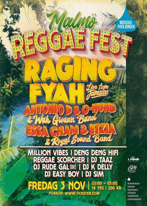 Malmö Reggae Fest 2017