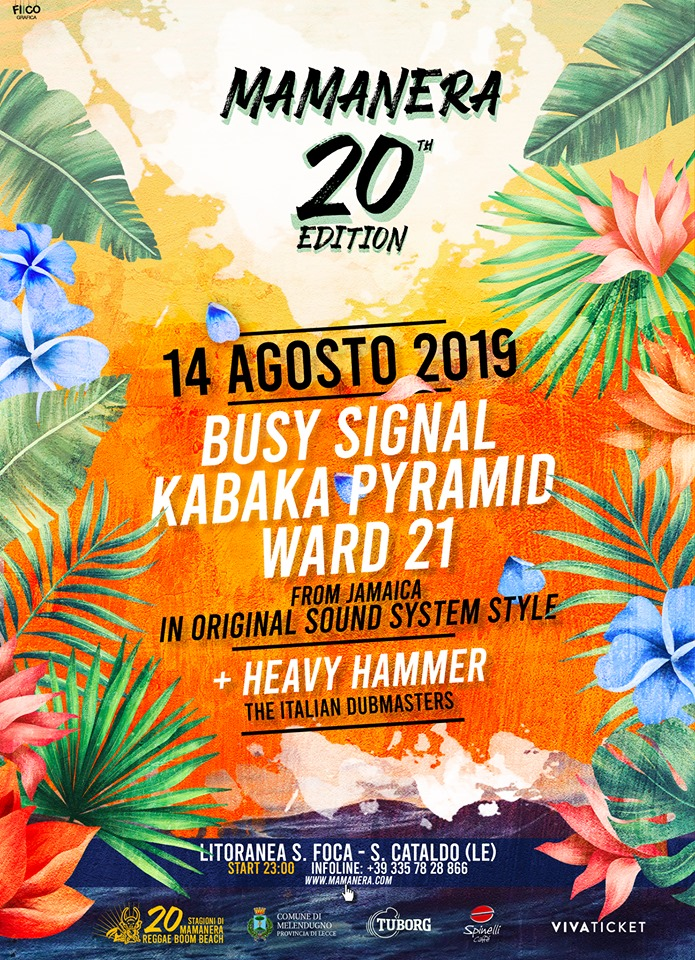 Mamanera Reggae Beach 2019